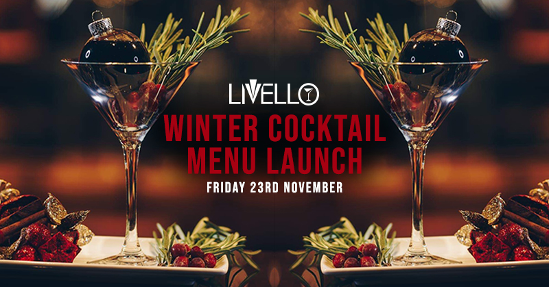 Winter Cocktail Menu Launch
