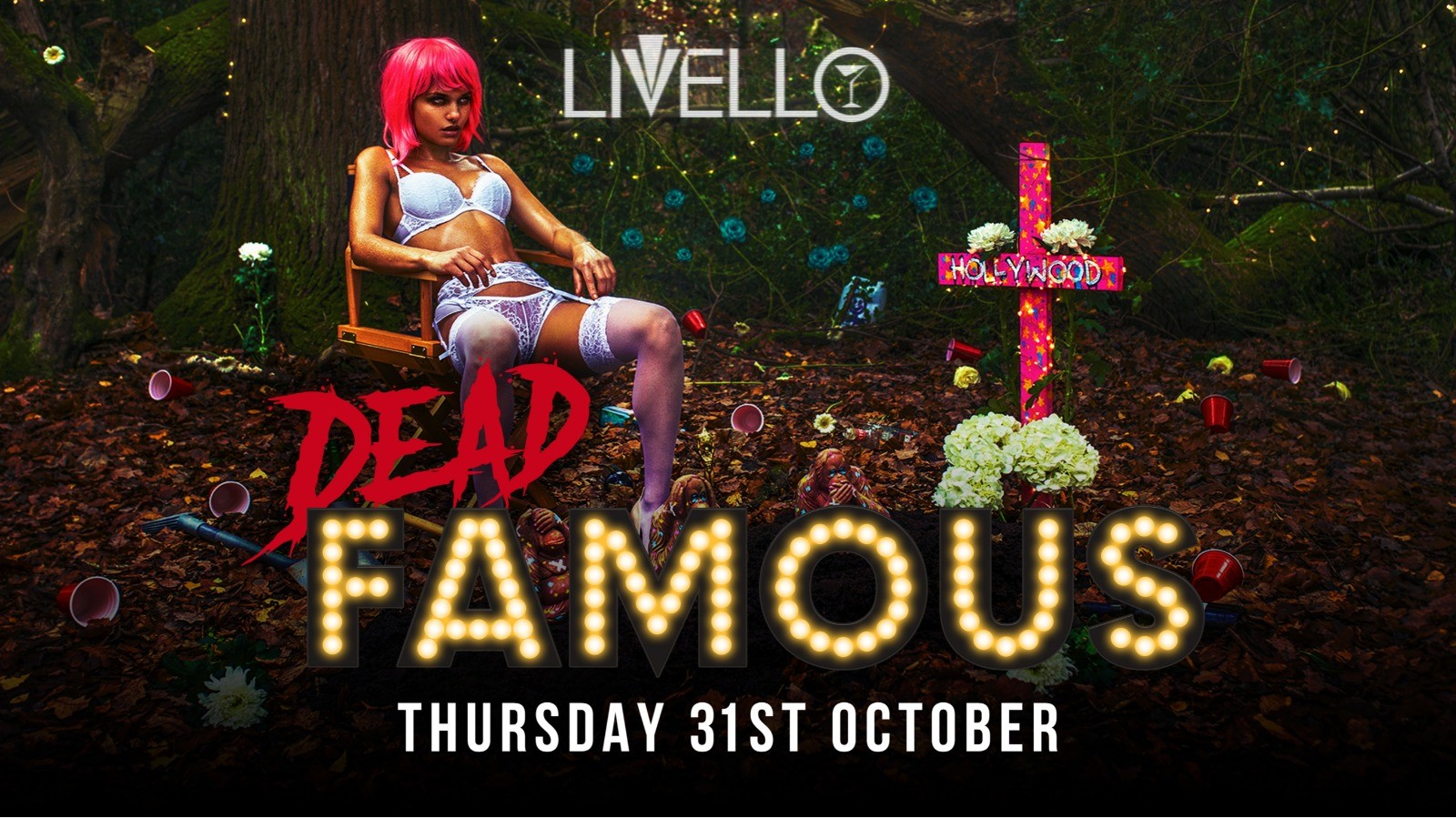 DEAD Famous - Halloween at Livello